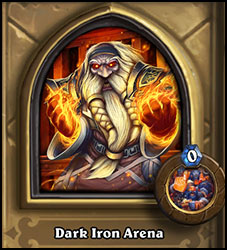Dark Iron Arena heroic deck